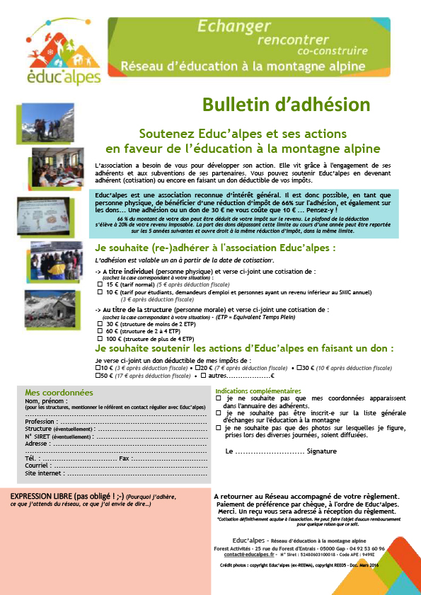 bulletin-adhesion