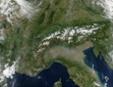 Les Alpes en automne - source : visibleearth.nasa.gov