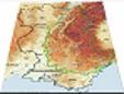 Le massif alpin (français) dans son environnement régional - Source : Comité de massif des Alpes